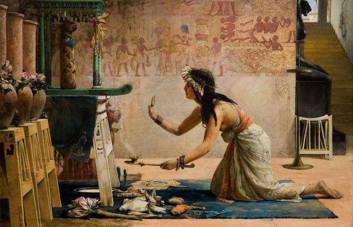 weguelin_the_obsequies_of_an_egyptian_cat_1886_1